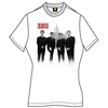 The Beatles The Beatles In Liverpool Ladies White T-Shirt (Small)
