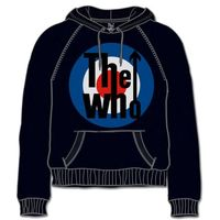 The Who Target Classic Black Mens Hoodie (X-Large) - Cover