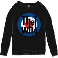 The Who Target Classic Black Mens Sweat-Shirt (XX-Large) - Cover