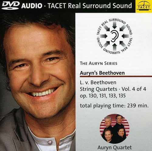 Beethoven / Auryn Quartet - Auryn Series 14: String Quartets (DVD Audio)
