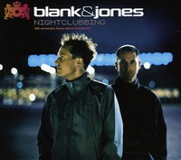 Blank & Jones - Nightclubbing (10th Anniversary) (CD) - Cover