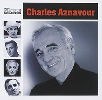 Charles Aznavour - Platinum Collection (CD) - Cover