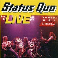 Status Quo - Live At the Nec (CD) - Cover