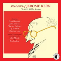 Jerome Kern - Melodies: the 1955 Walden Sessions (CD) - Cover