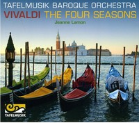 Vivaldi / Tafelmusik Baroque Orch / Lamon - Four Seasons (CD) - Cover