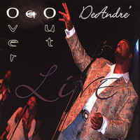 Deandre - Over & Out Live (CD) - Cover