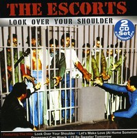 Escorts - Look Over Your Shoulder (CD) - Cover