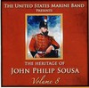 Us Marine Band - Heritage of John Philip Sousa 8 (CD)