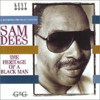 Sam Dees - Heritage of a Black Man (CD) - Cover
