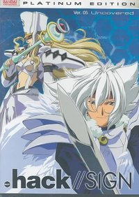 Hack//Sign 5: Uncovered (Region 1 DVD) - Cover