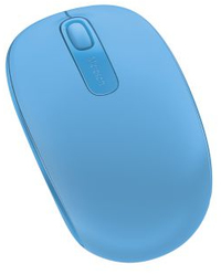Microsoft - Wireless Mobile Mouse 1850 - Light Blue