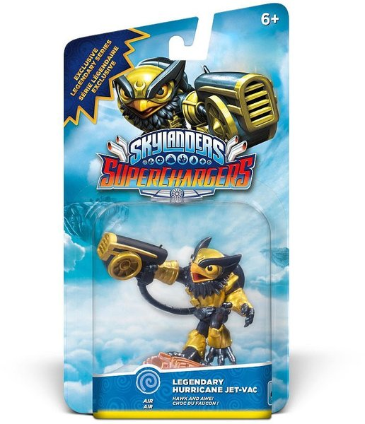 Skylanders SuperChargers Legendary Hurricane Jet-Vac (For 3DS, Wii, Wii U,  iOS, PS3, PS4, Xbox 360 & Xbox One)