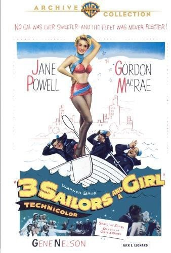 3 Sailors and a Girl (Region 1 DVD)