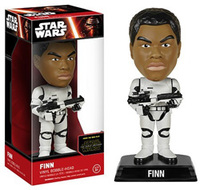 Funko Wacky Wobbler - Bobble Head Star Wars - Finn Stormtrooper Wacky Wobbler Figure (the Force Awakens) - Cover