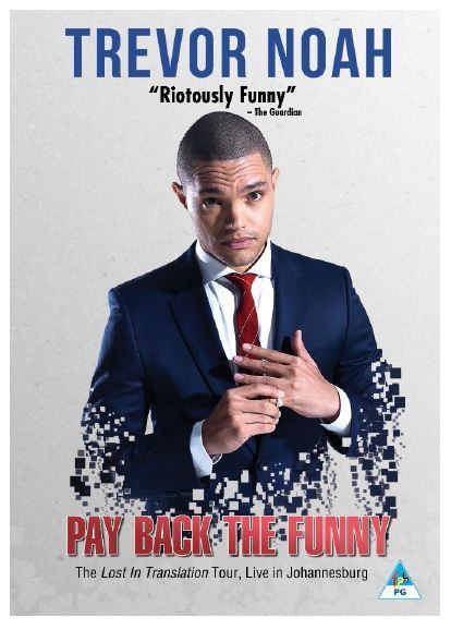 Trevor Noah Pay Back The Funny Dvd Movies Amp Tv
