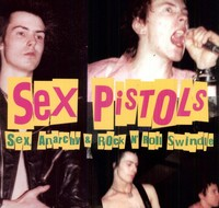 Sex Pistols - Sex Anarchy & Rock N Roll Swindle (Vinyl) - Cover