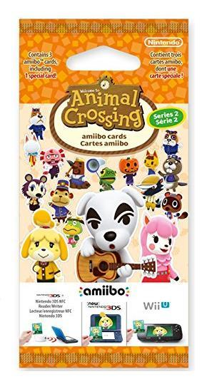 Animal crossing happy home designer amiibo 3 card pack - Happy home designer amiibo figures ...