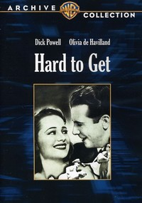 Hard to Get (Region 1 DVD) - Cover
