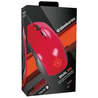 Steelseries Rival 100 Gaming Mouse - Forged Red