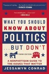What You Should Know About Politics... but Don't - Jessamyn Conrad (Paperback)