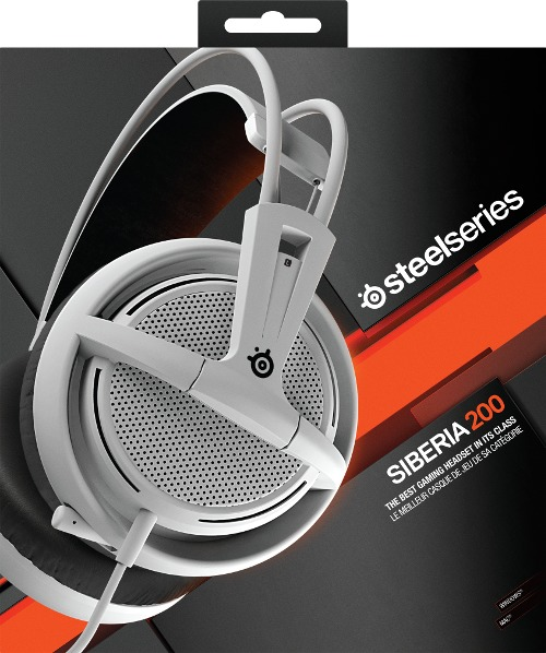494752f31c4 Steelseries Siberia 200 Gaming Headset - White (PC) - Electronics ...