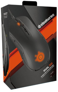 Steelseries Rival 300 Gaming Mouse - Black - Cover