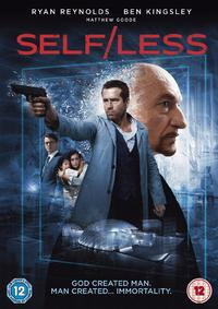 Self/Less (DVD) - Cover