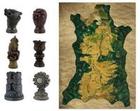 Game of Thrones Map Marker Set W/ Map - Cover