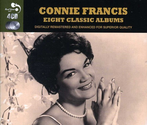 Connie Francis The Twelve Days Of Christmas.Connie Francis 8 Classic Albums Cd