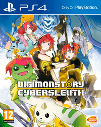 Digimon Story: CyberSleuth (PS4) - Cover