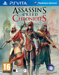 Assassin's Creed Chronicles Pack (PS VITA) - Cover