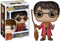 Funko Pop! Movies - Harry Potter Quidditch Harry - Cover