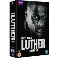 Luther: Series 1-4 (DVD)