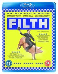 Filth (Blu-ray) - Cover