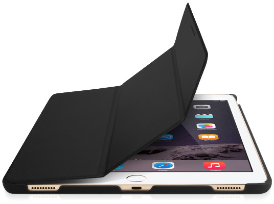 Macally Protective Case and Stand for iPad Pro - Black