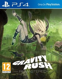 Gravity Rush Remastered (PS4) - Cover