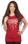 The Witcher 3 White Wolf Women's T-Shirt (Small)