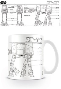 Star Wars AT-AT Sketch Boxed Mug - Cover