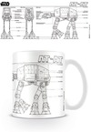 Star Wars AT-AT Sketch Boxed Mug