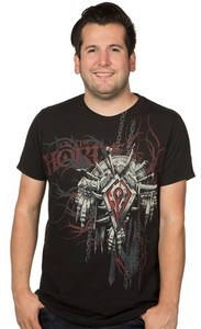World of Warcraft Horde Crest Version 2 Premium T-Shirt (Medium) - Cover