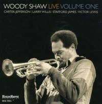 Woody Shaw - Woody Shaw Live 1 (CD) - Cover