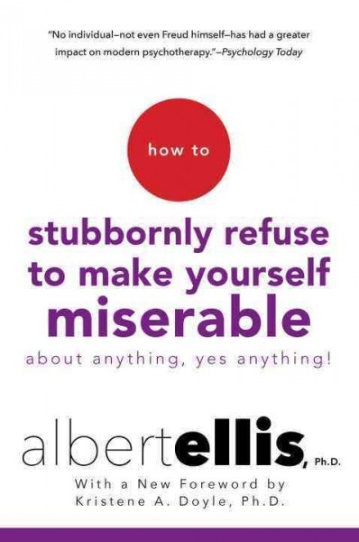 How To Make A Book Yourself : How to stubbornly refuse make yourself miserable about