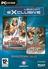 Age of Mythology incl. Titans Addon (PC) - Cover