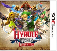 Hyrule Warriors: Legends (3DS) - Cover
