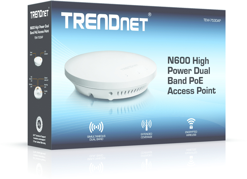 TRENDnet TEW-753DAP Access Point Driver for PC