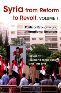 Syria From Reform to Revolt, Volume 1 (Paperback) - Cover