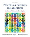 Parents as Partners in Education - Eugenia Hepworth Berger (Paperback)