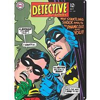 Batman Detective Large Steel Sign (Metal Wall Sign A3)