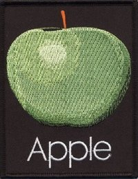 Beatles Apple Records Logo Patch - Cover