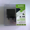 Gizzu 2 Port 2.1a USB Wall Charger Black Cover